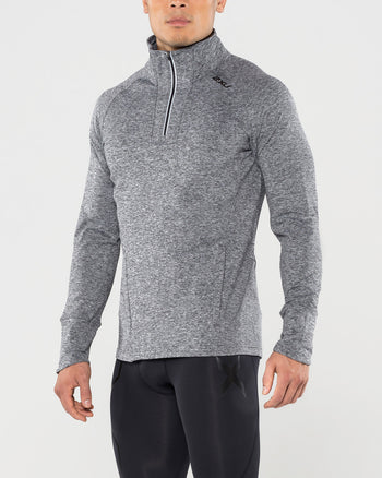 Men's FORMSOFT 1/4 Zip L/S Top : MR4583A