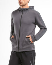2XU Men's URBAN Zip Thru Hoodie : MR5236A