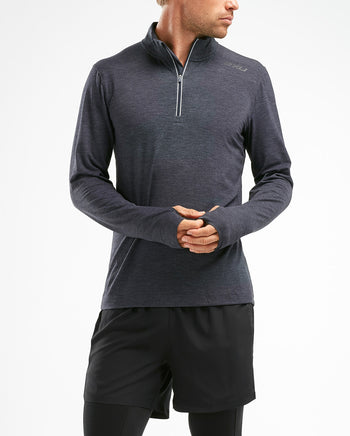 2XU Men's HEAT 1/4 Zip Top : MR52594
