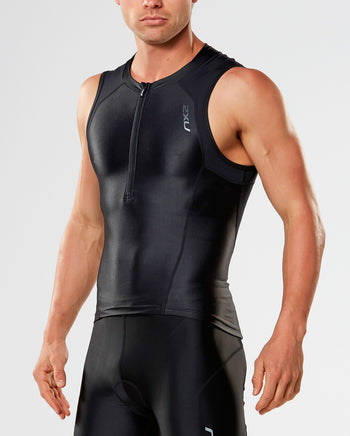 Men's Compression Tri Singlet : MT4440a
