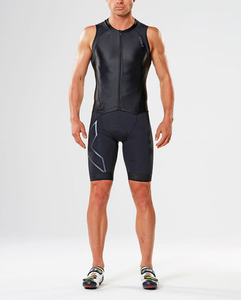 Men's Compression Zip Trisuit : MT4443d