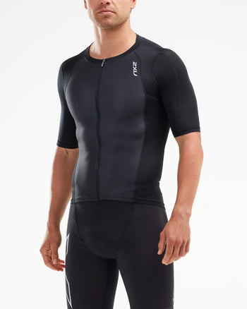 2XU Men's Compression Sleeved Top : MT5518A