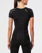 Women's Elite Compression Shorts Sleeve Top : WA3015A