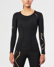 Women's Elite Compression Long Sleeve Top : WA3016A