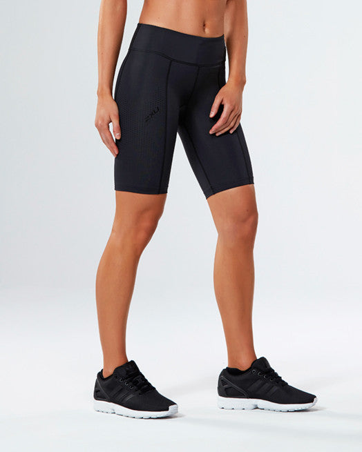 Women's Mid-Rise Compression Shorts