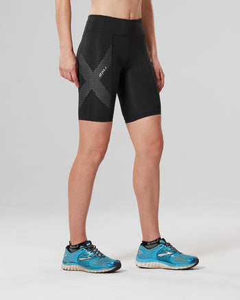 Women's Mid-Rise Compression Shorts : WA3027B