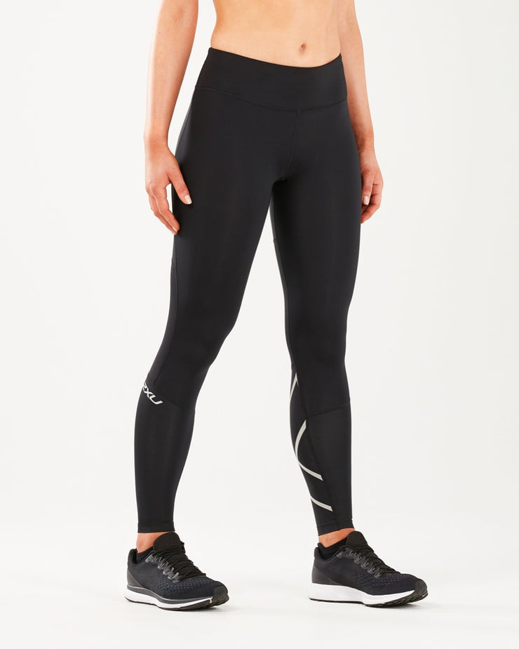 Women's Run Mid Rise Compression Tights : WA5312B