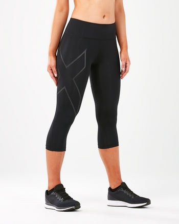 Women's Run Mid Rise Compression 3/4 Tights : WA5313B