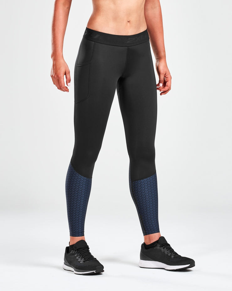 Women's Accelerate Compression Tights with Storage