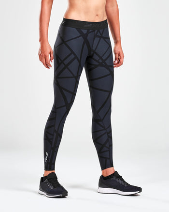 Women's Print Accelerate Compression Tights : WA5376B