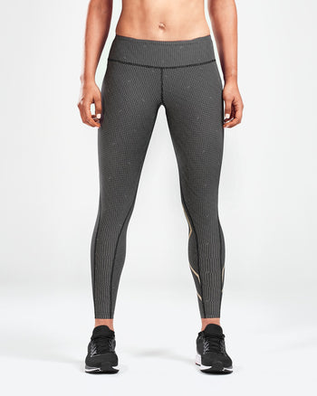 Women's Print Mid-Rise Compression Tights : WA5378B