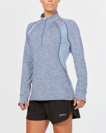 Women's X-VENT LONG SLEEVE TOP WITH 1/4 ZIP