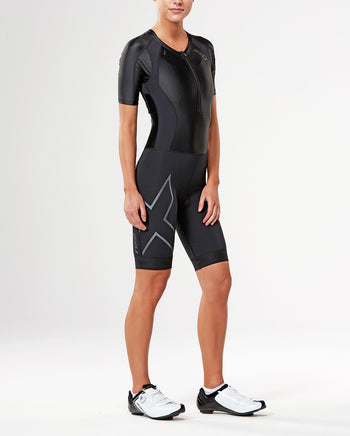 Women's COMPRESSION SLEEVED TRISUIT
