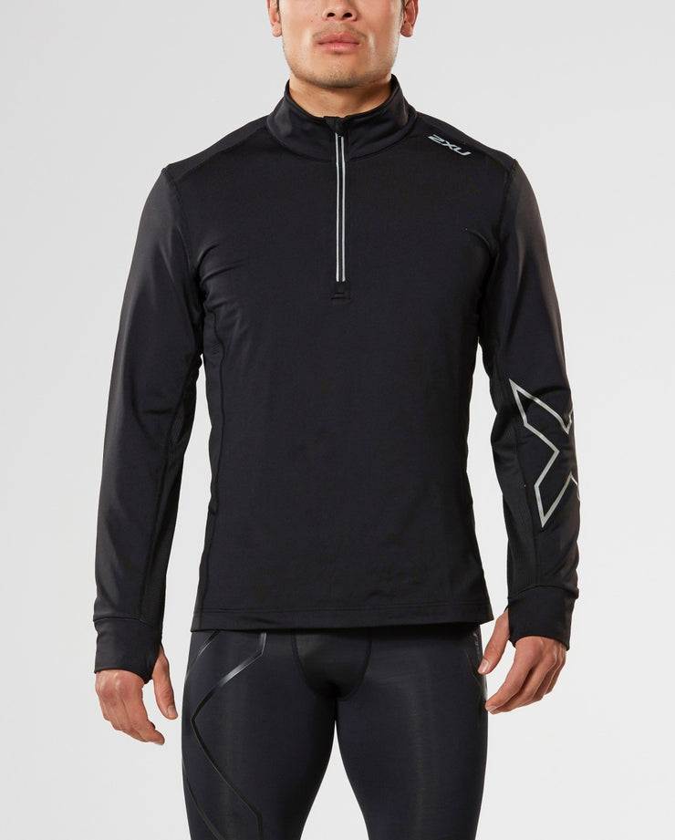 X-VENT LONG SLEEVE TOP WITH 1/4 ZIP
