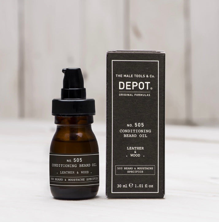 30ml No.505 Depot Conditioning Beard Oil Online Australia- Ethan Thomas Collection