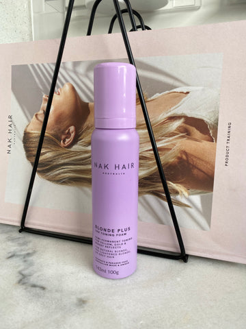 Nak Blonde Plus 10V Toning Foam 143ml-Ethan Thomas Collection