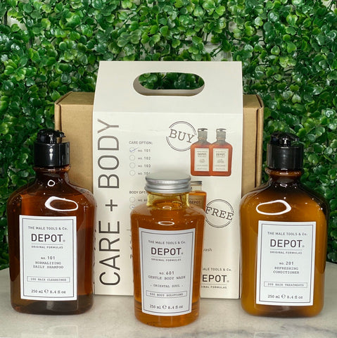 Depot care & body pack