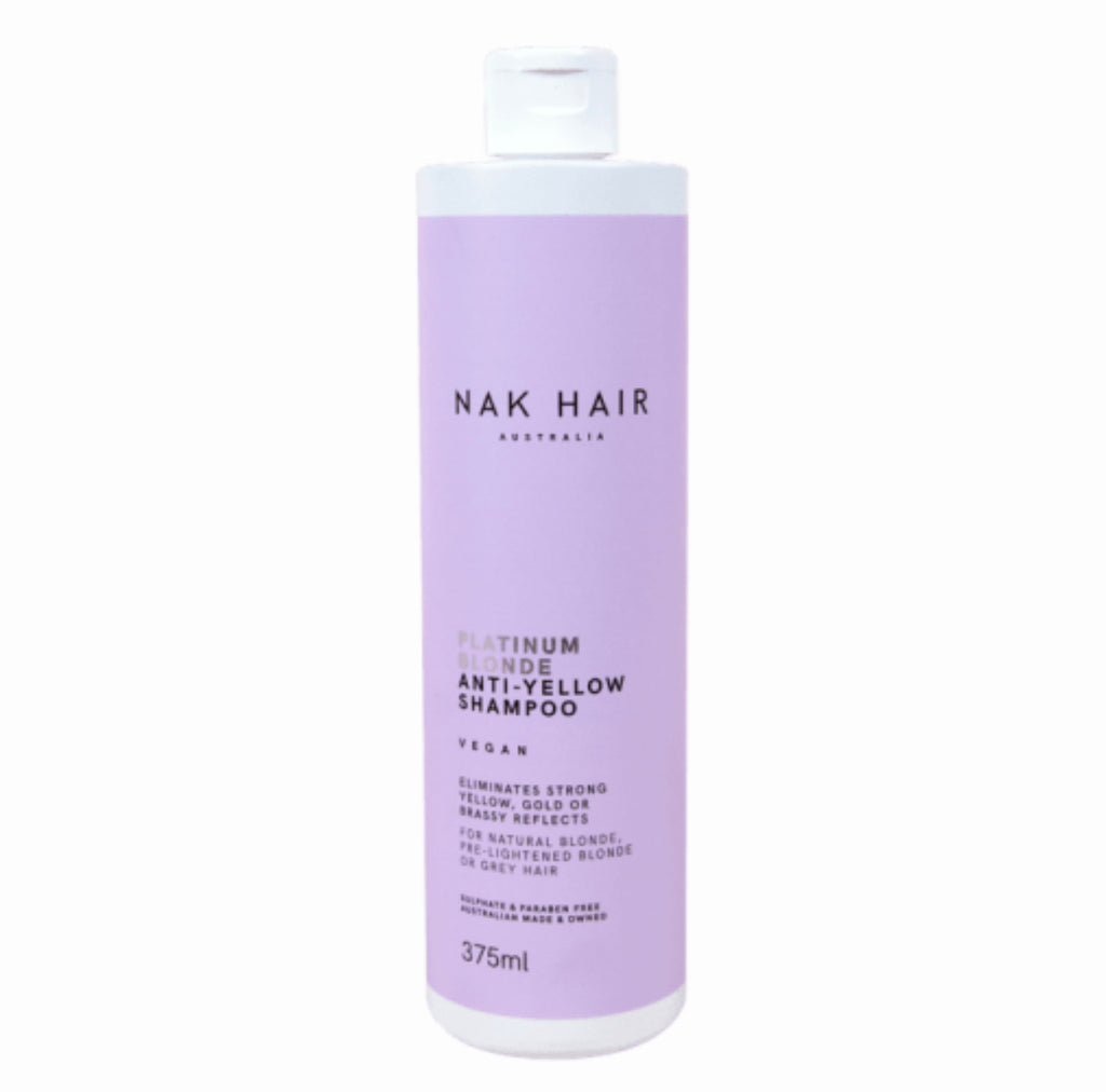 Nak Platinum Blonde Shampoo 375ml-Ethan Thomas Collection