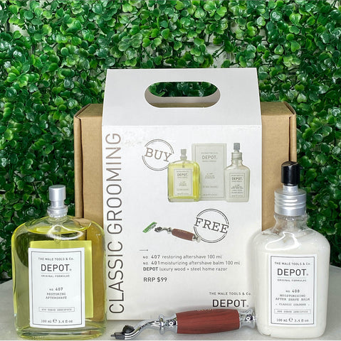 Depot classic grooming kit-Ethan Thomas Collection