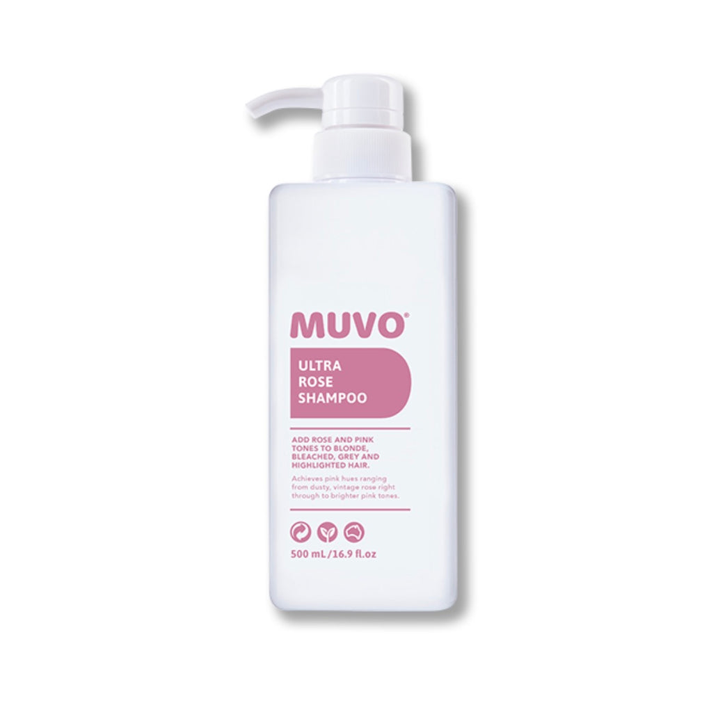 MUVO Ultra Rose Shampoo 500ml - Ethan Thomas Collection