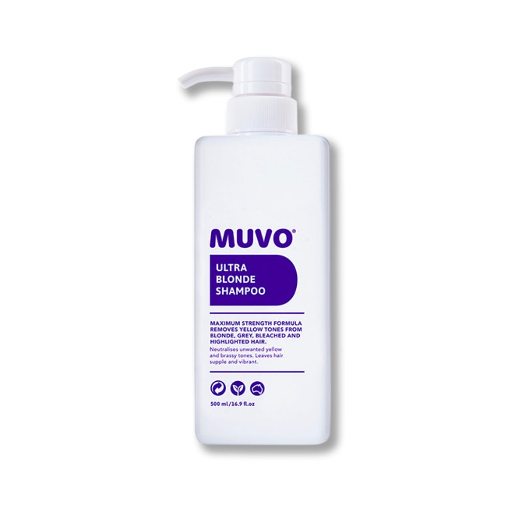 Muvo Ultra Blonde Shampoo 500ml - Ethan Thomas Collection
