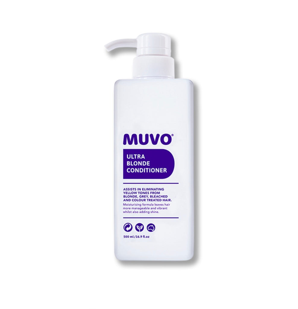 MUVO Ultra Blonde Conditioner 500ml - Ethan Thomas Collection