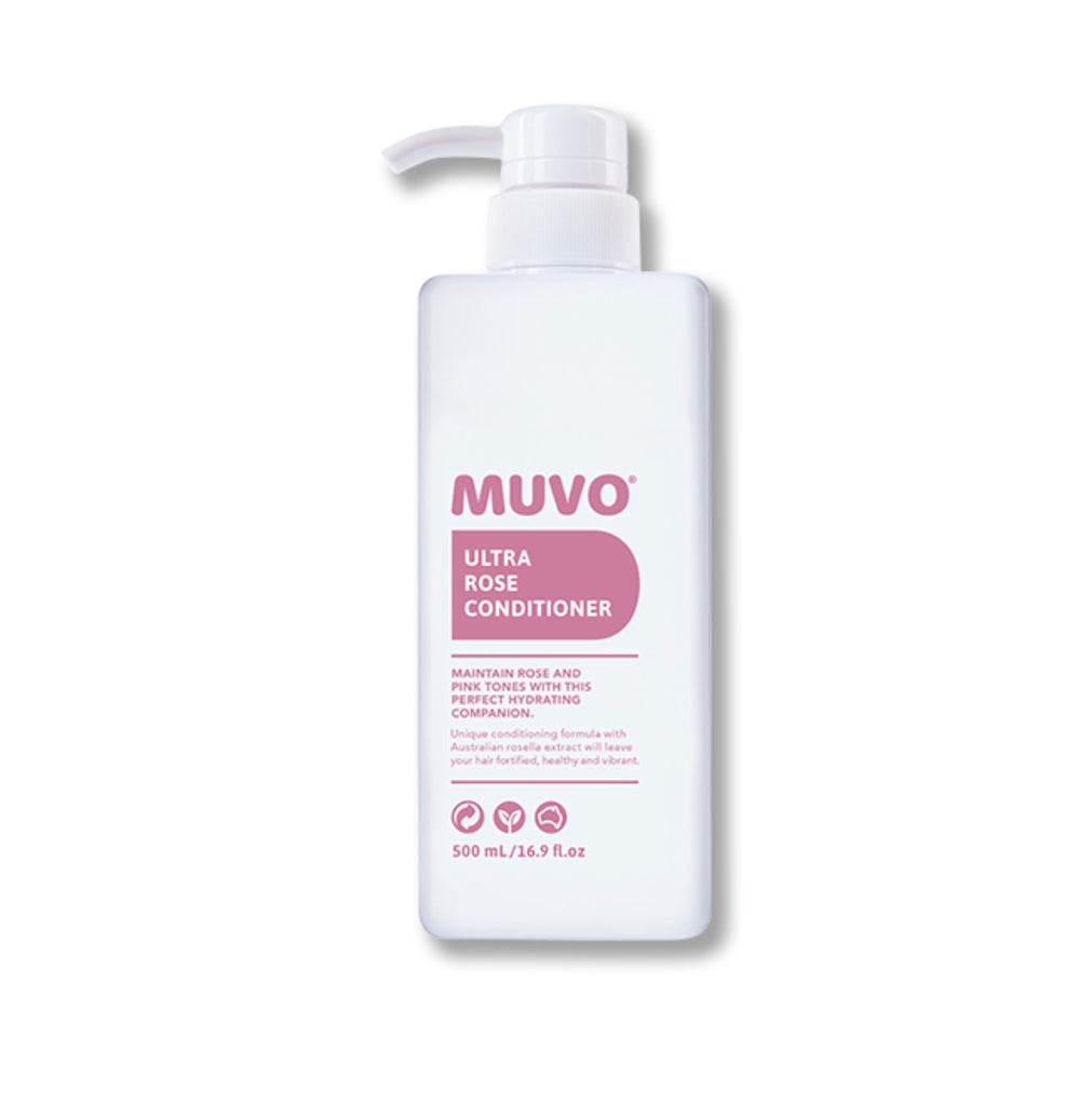 MUVO Ultra Rose Conditioner 500ml - Ethan Thomas Collection