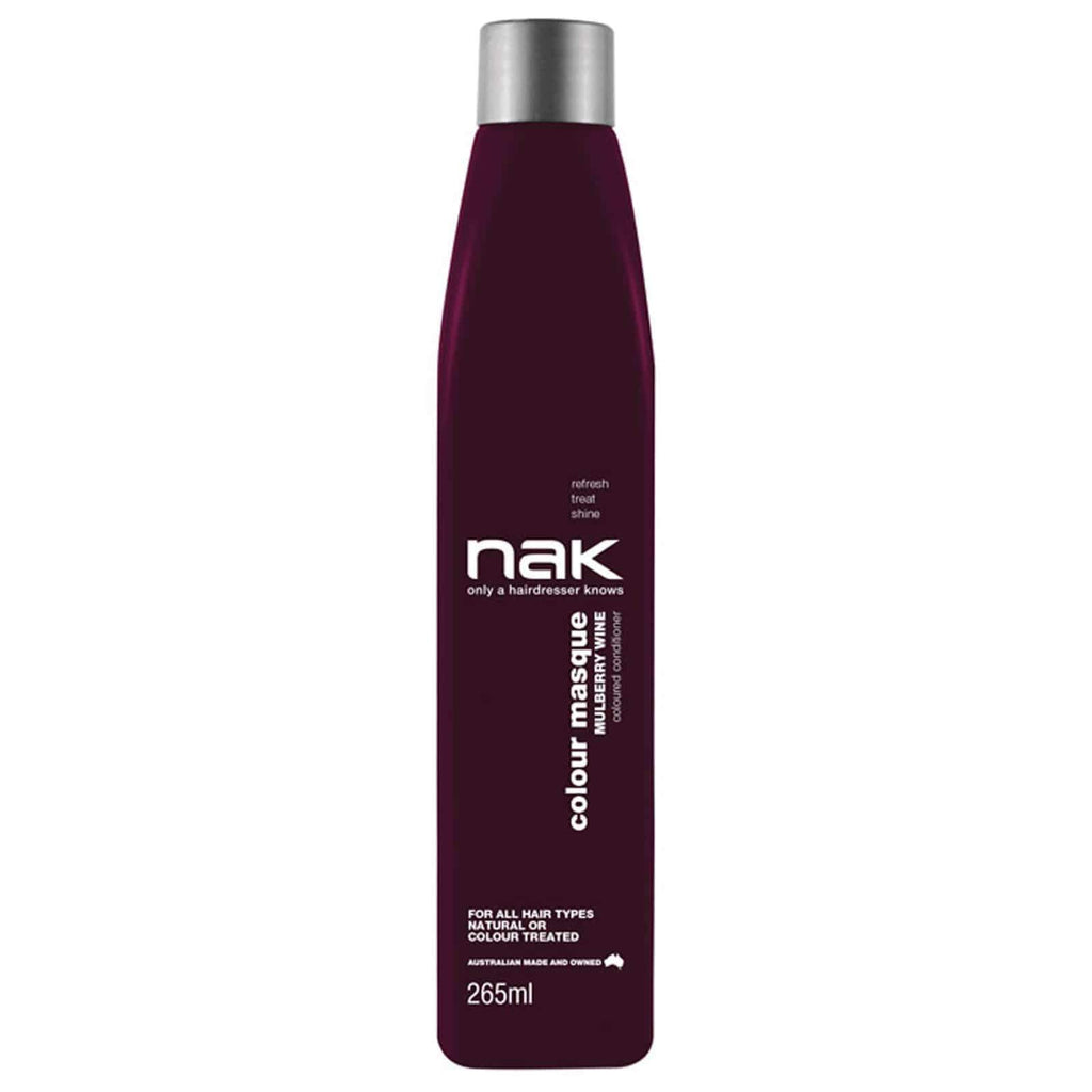 Nak Colour Masque Coloured Conditioner - Mulberry Wine 265ml | Ethan Thomas Collection
