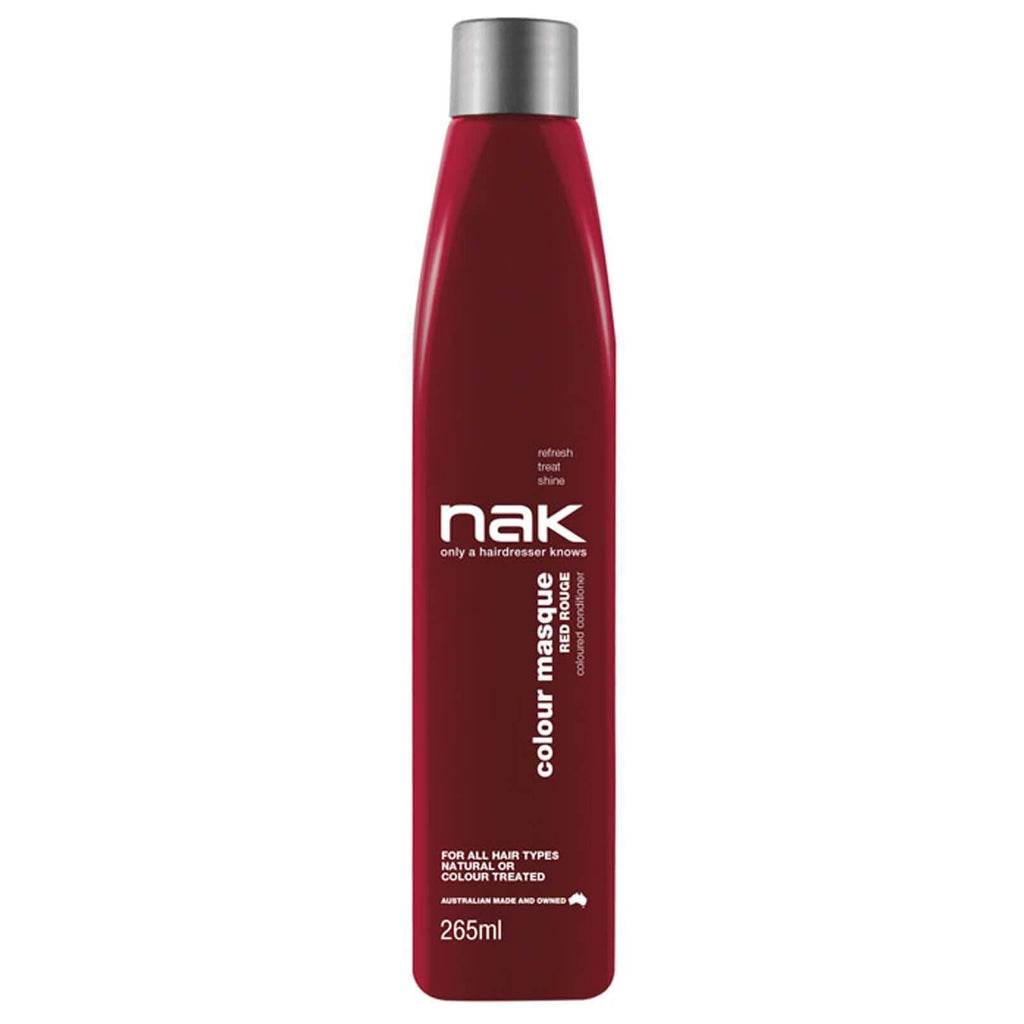 Nak Colour Masque Coloured Conditioner - Red Rogue 265ml | Ethan Thomas Collection