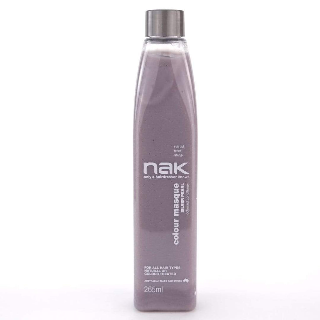 Nak Colour Masque Silver Pearl Conditioner (265ml) - Ethan Thomas Collection