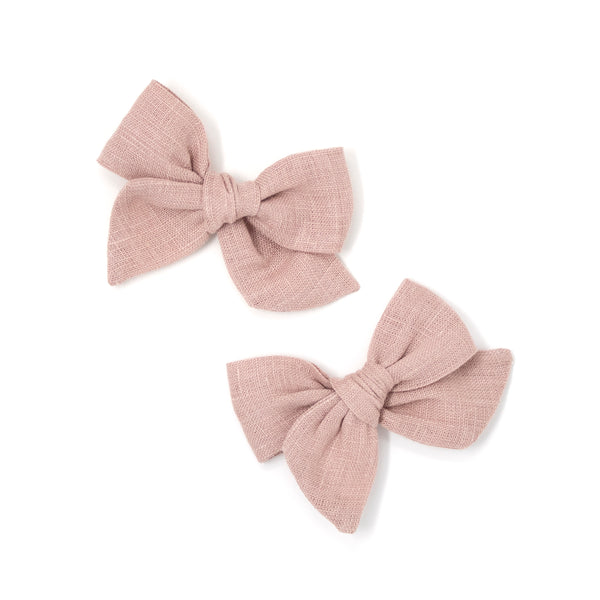 Mini Pinwheel Pigtails Set // Rosehip