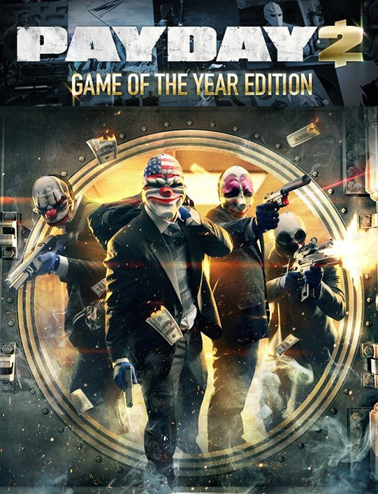 Payday 2 GOTY Edition Windows PC Game Download Steam CD-Key Global