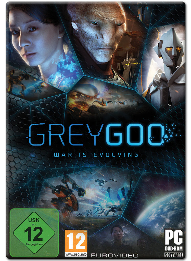 Grey Goo Windows PC Game Download Steam CD-Key Global