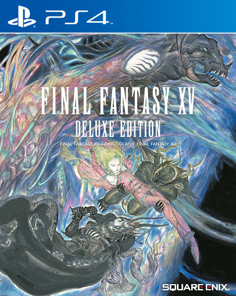 Final Fantasy XV Deluxe Edition For PlayStation 4 (Physical Disc)
