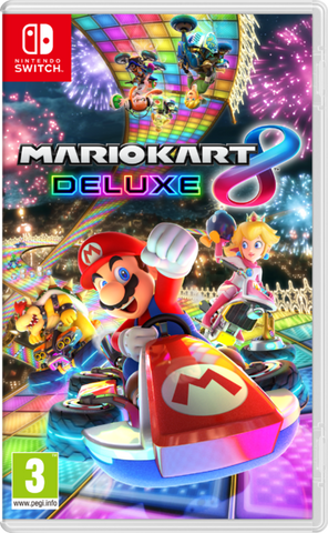 Mario Kart 8 Deluxe Pre-Order For Switch (Physical Cartridge)