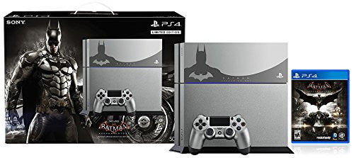 PlayStation 4 500GB Game Console - Batman Arkham Knight Limited Edition Bundle