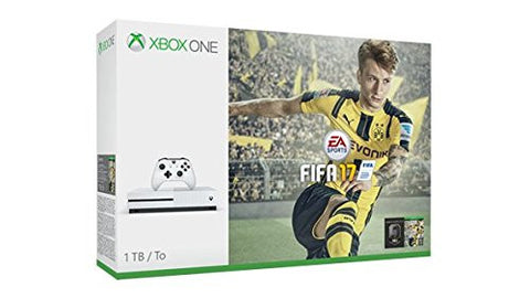 Xbox One S 1TB Game Console - FIFA 17 Bundle