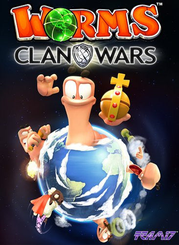 Worms Clan Wars Windows PC Game Download Steam CD-Key Global