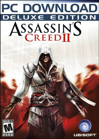 Assassin's Creed II Deluxe Edition Windows PC Game Download Uplay CD-Key Global
