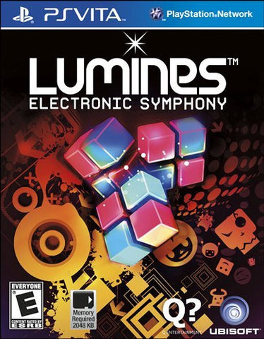 Lumines: Electronic Symphony For PSVita (Physical Cartridge)