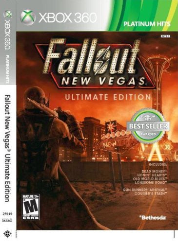 Fallout: New Vegas - Ultimate Edition For Xbox 360 (Physical Disc)