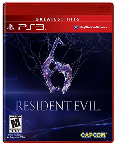 Resident Evil 6 For PlayStation 3 (Physical Disc)
