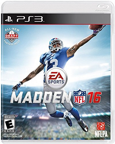 Madden NFL 16 For PlayStation 3 (Physical Disc)