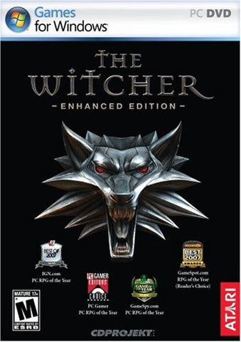 The Witcher: Enhanced Edition Director's Cut Windows PC/Mac Game Download Steam CD-Key Global