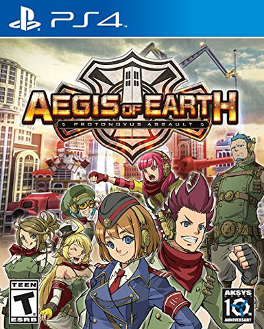 Aegis of Earth: Protonovus Assault For PlayStation 4 (Physical Disc)