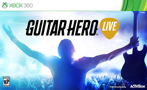 Guitar Hero Live Wireless Guitar Bundle For Xbox 360 (Physical Disc)