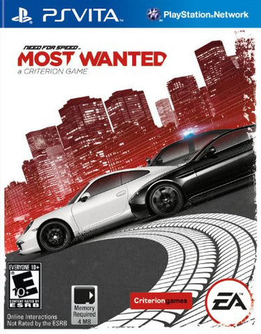 Need for Speed: Most Wanted For PSVita (Physical Cartridge)
