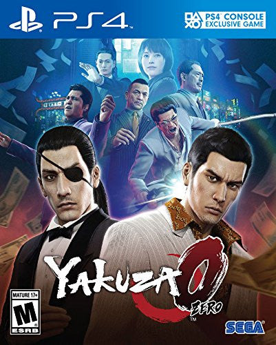 Yakuza 0 Pre-Order For PlayStation 4 (Physical Disc)