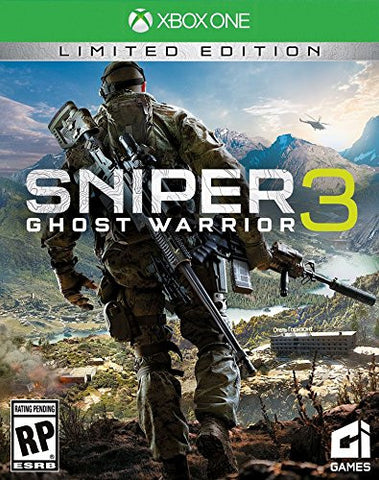 Sniper Ghost Warrior 3 Limited Edition Pre-Order For Xbox One (Physical Disc)