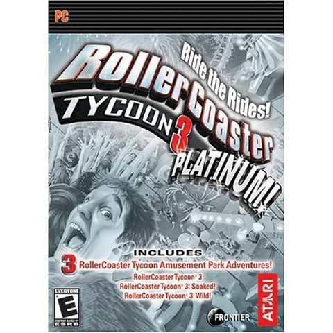 Rollercoaster Tycoon 3: Platinum Windows PC/Mac Game Download GOG CD-Key Global